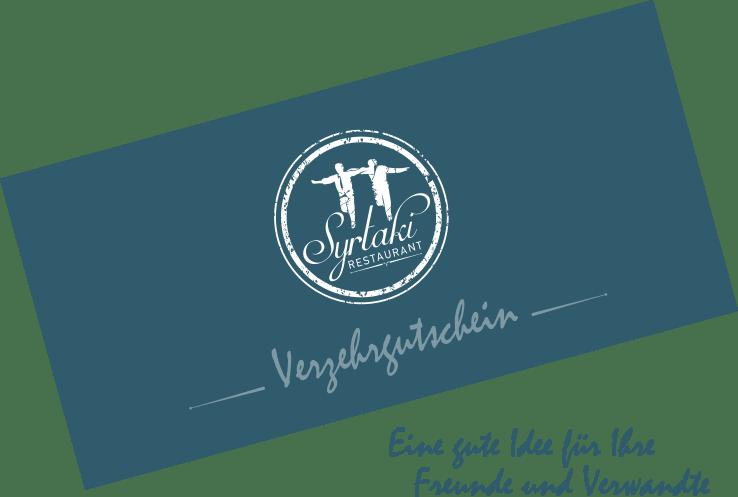 Verzehrgutschein von griechischen Restaurant Syrtaki Bocholt